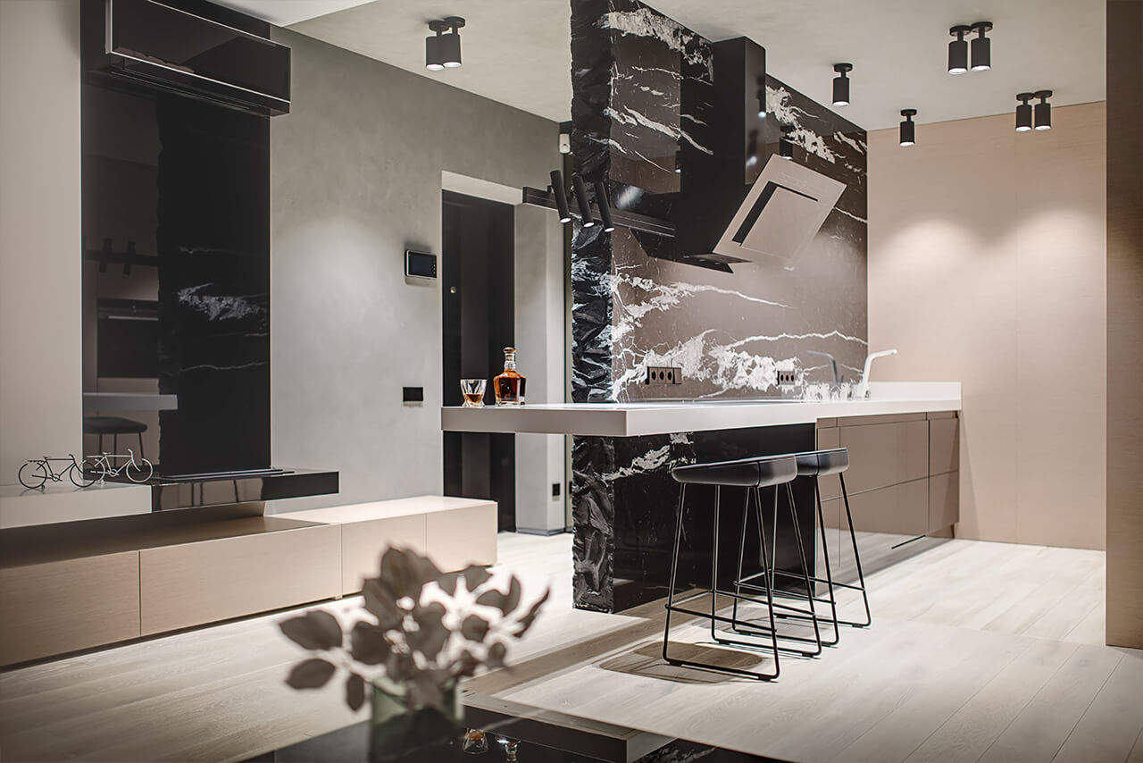 Industrial apartment